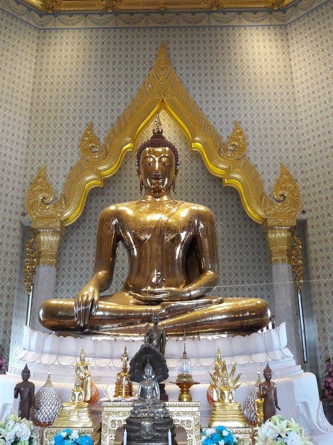 Wat Traimit a Bangkok immagine stock libera da diritti