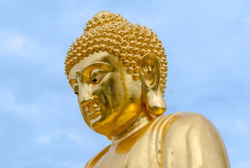 Wat Traimit in Bangkok, Thailand stockfoto