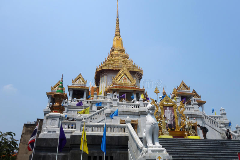 Wat Traimitr Withayaram, Bangkok royalty free stock photography