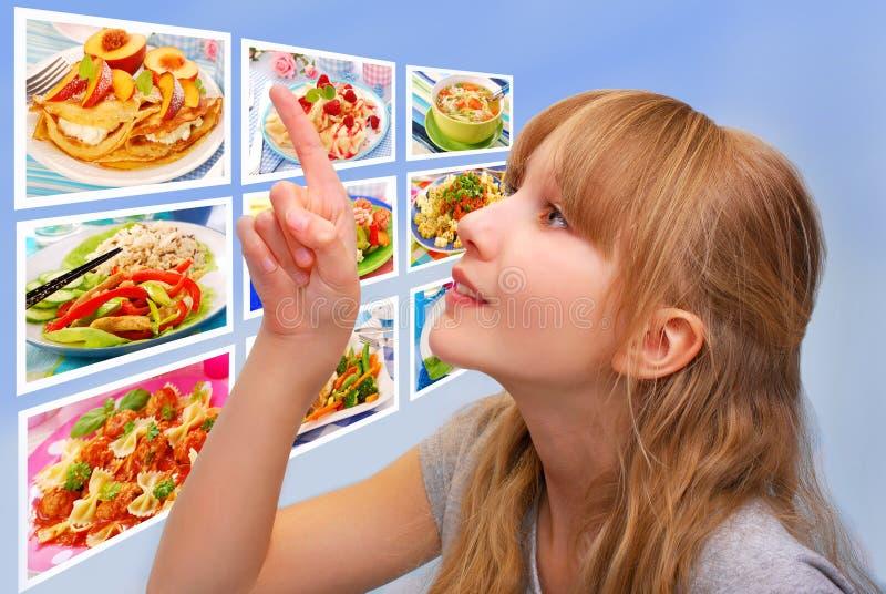 Wat voor lunch vandaag stock afbeeldingen