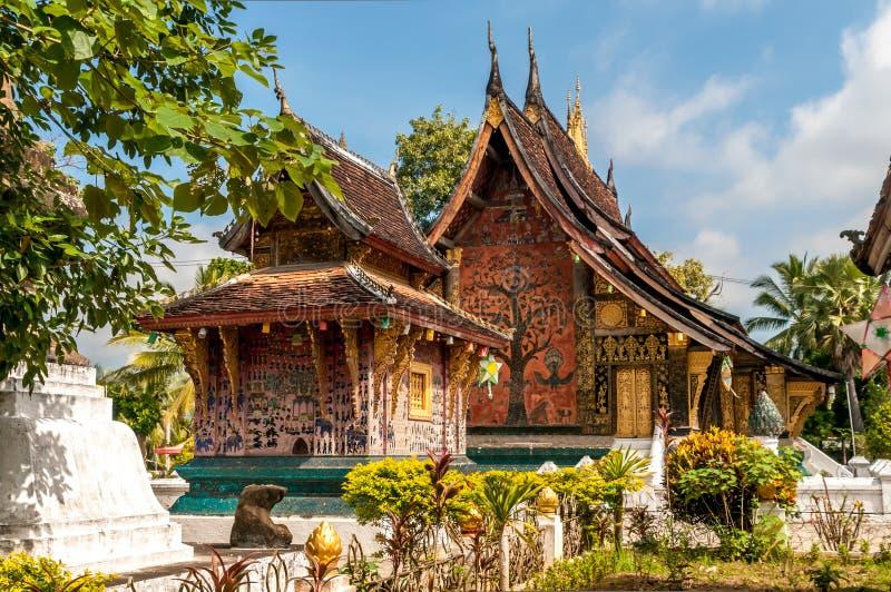 Wat Xieng Thong immagine stock