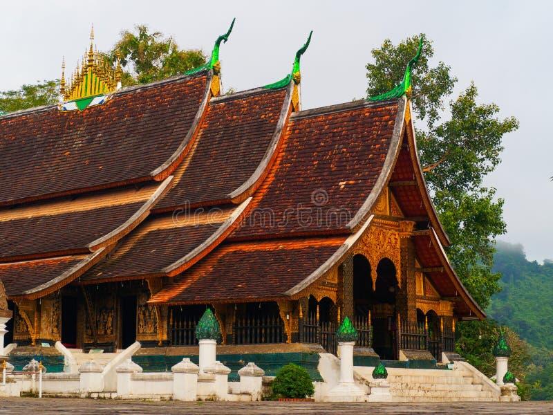 Wat Xieng Thong Luang-prabang Laos stockfoto