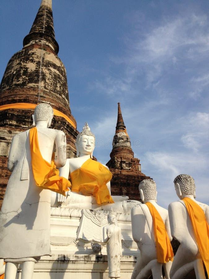 Wat Yai Chai Mongkol fotos de stock