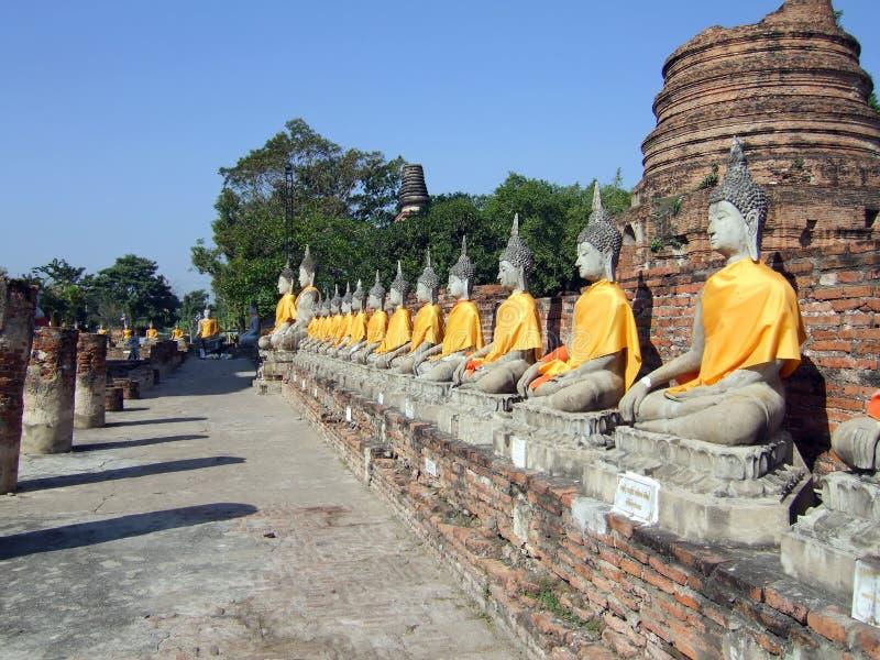 Wat Yai Chai Mongkol photos stock