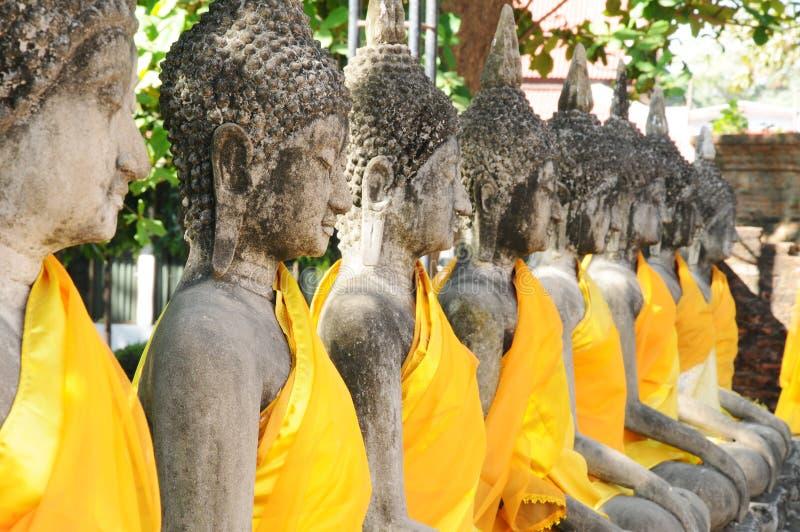Wat Yai Chaimongkol, Таиланд стоковое изображение rf