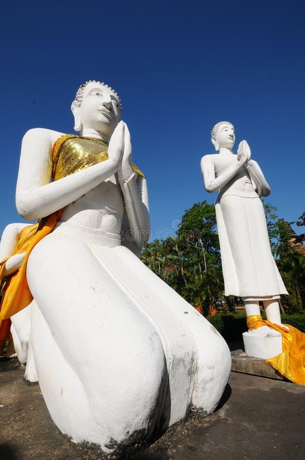 Wat Yai Chaimongkol, Таиланд стоковое фото rf