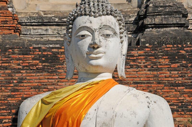 Wat Yai Chaimongkol, Таиланд стоковые фотографии rf