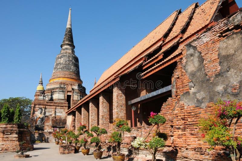 Wat Yai Chaimongkol, Таиланд стоковая фотография