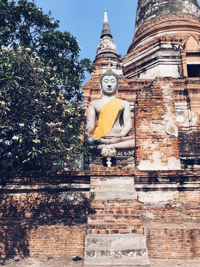 Wat Yaichaimongkol στοκ φωτογραφία με δικαίωμα ελεύθερης χρήσης