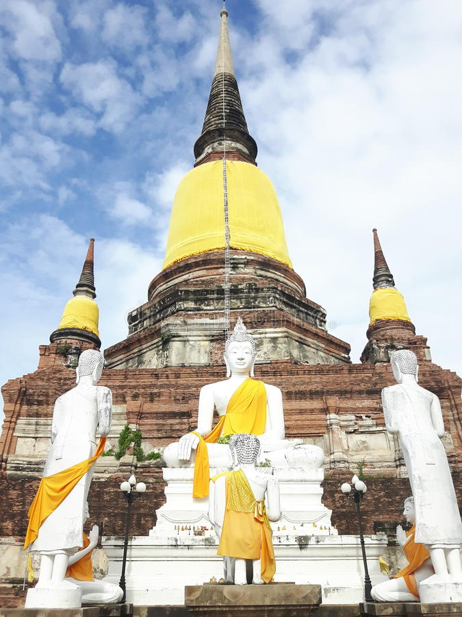 Wat Yaichaimongkol obraz stock