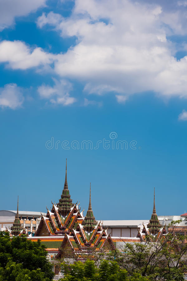 Wat yannawa寺庙inBangkok泰国 免版税库存图片