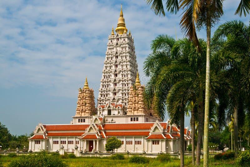 Wat Yansangwararam stock afbeelding