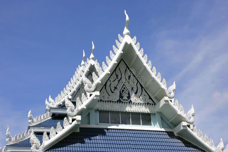 Wat Yansangwararam dichtbij Pattaya, Thailand stock afbeeldingen