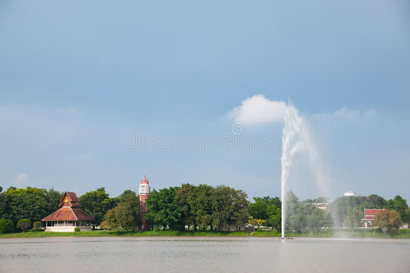 Wat Yansangwararam, Pattaya zdjęcie royalty free