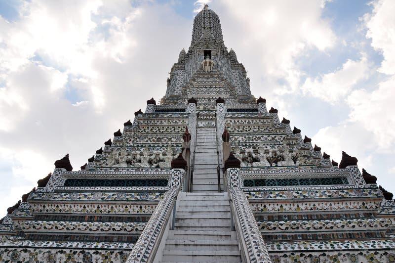 Wata Arun buddyjska świątynia, Bangkok, Tajlandia fotografia stock