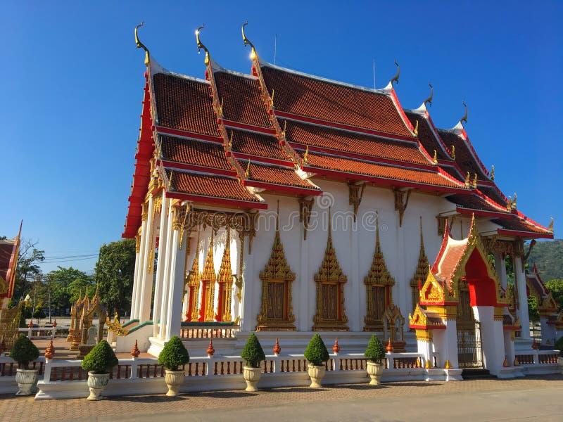 Wata Chalong świątynia, Phuket zdjęcie stock