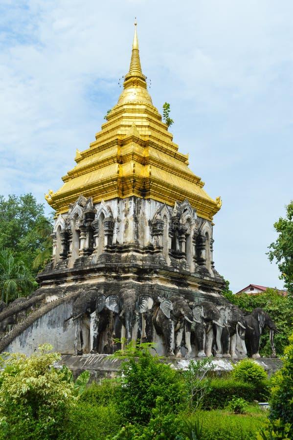 Wata Chiang mężczyzna świątynia obrazy royalty free