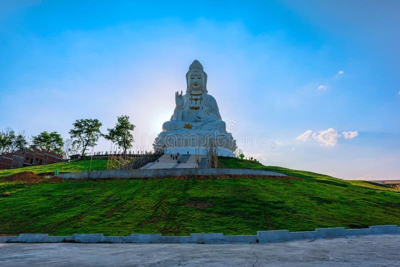 Wata Huai śliwki KungTemplein Chiang Raja, Tajlandia obrazy stock