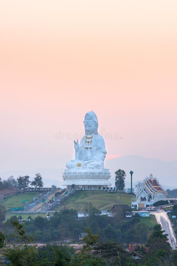 Wata Hyua śliwki Kanga, Chiang Raja obrazy royalty free