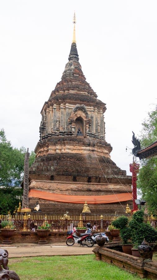 Wata Lokmolee Chiang Mai Tajlandia zdjęcia stock