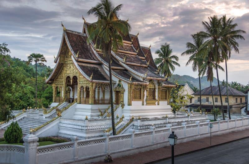Wata Mai świątynia i monasteru luang prabang Laos zdjęcia stock