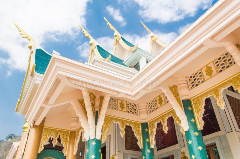 Wata Pa Phu Kon, Udon Thani Tajlandia zdjęcia royalty free