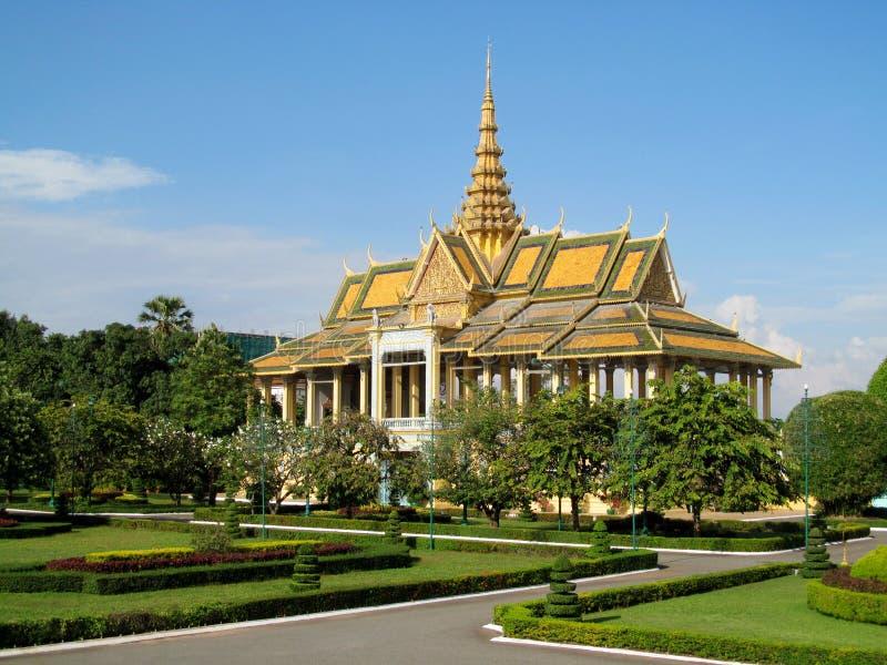 Wata phnom w Phnom Penh, Kambodża fotografia stock