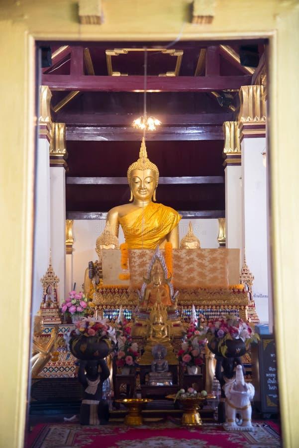 Wata Phra Si Rattana Mahathat świątynia, Phitsanulok prowincja, Thail zdjęcia stock