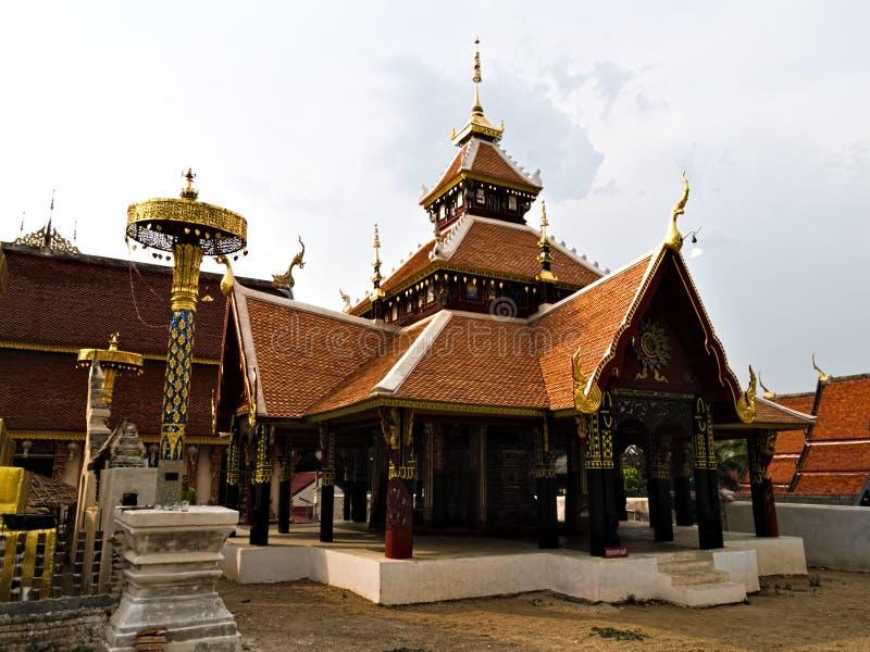 Wata pong sanook nuea w lampang, Thailand obraz stock