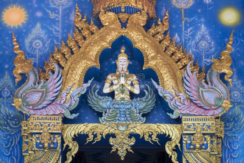 Wata Rong Sua Dziesięć Chiang raja Thailand obrazy royalty free