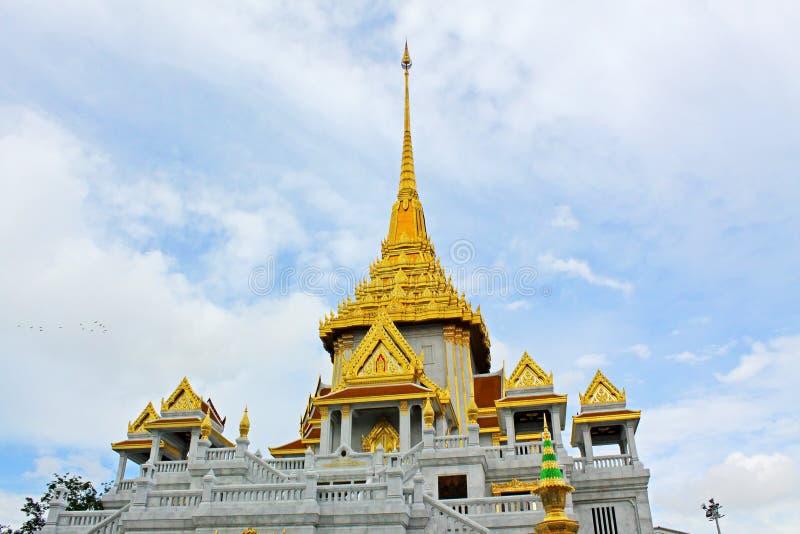 Wata Sam podbródek, Bangkok, Tajlandia fotografia royalty free