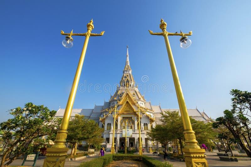2019-03-09, Wata Sothon Wararam Worawihan Chacheongsao prowincja, Tajlandia obraz stock