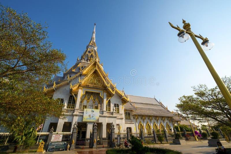 2019-03-09, Wata Sothon Wararam Worawihan Chacheongsao prowincja, Tajlandia fotografia stock
