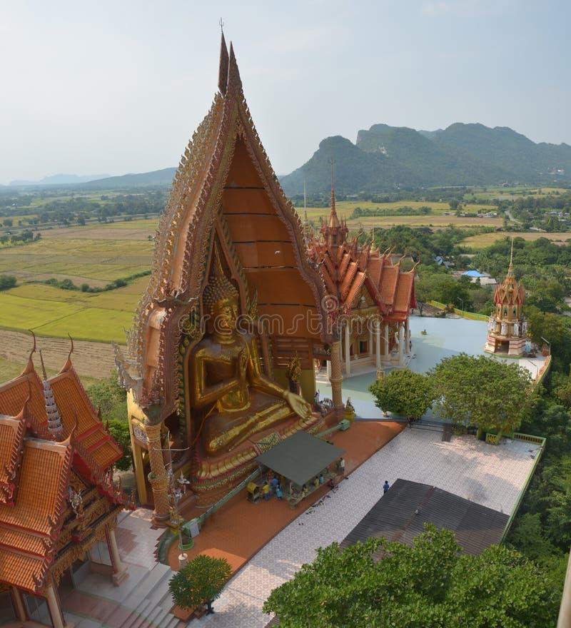 Wata tham sua przy Kanchanaburi Tajlandia obrazy stock