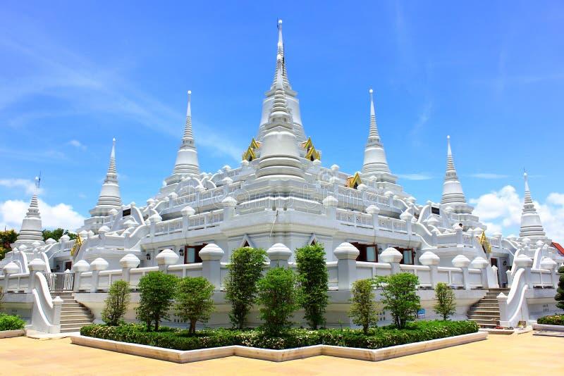 Watasokaram dei Pagodas in Tailandia fotografie stock libere da diritti