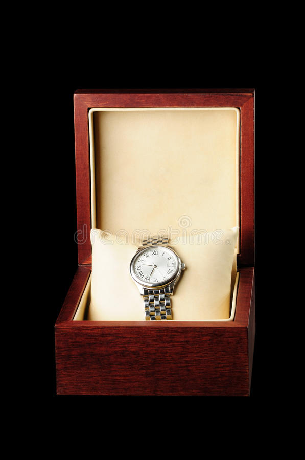 Download Watch stock image. Image of present, year, business, black - 10515563