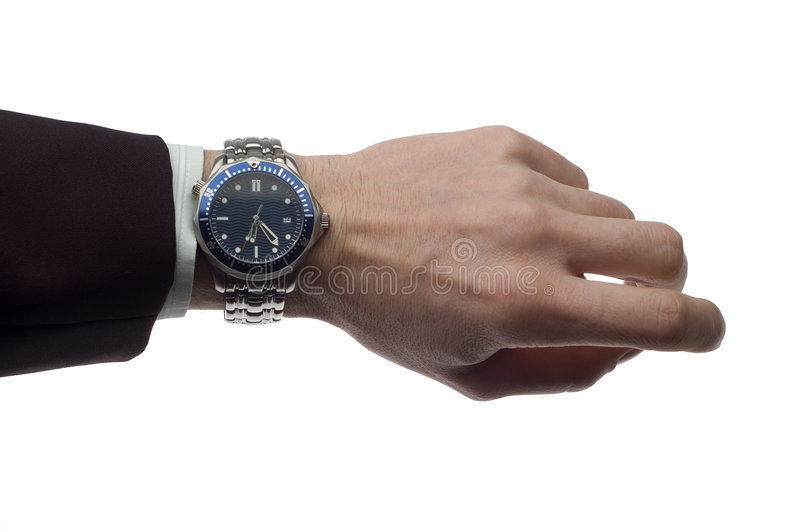 Watch stock photography