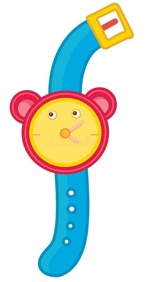 watch vektor illustrationer