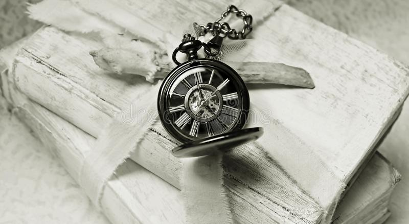 Watch, Black And White, Silver, Monochrome royalty free stock image