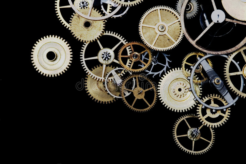 Watch Cogs royalty free stock photo