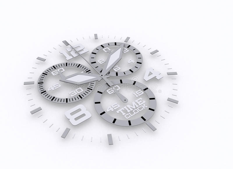 Download Watch detail in 3D time stock illustration. Image of dial - 16737169