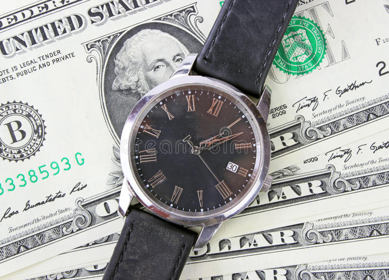 Download Watch On Dollars Stock Photography - Image: 31330452