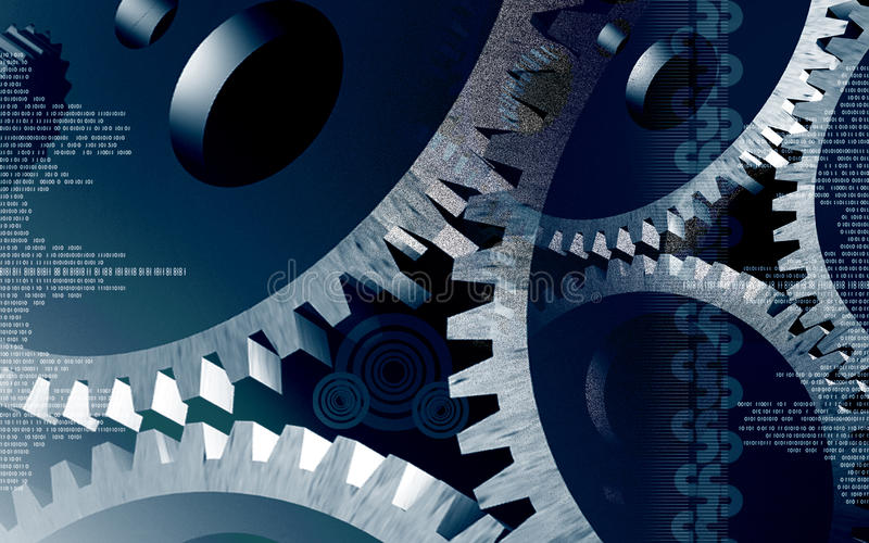Download Watch gears stock illustration. Image of industry, machinery - 12714715