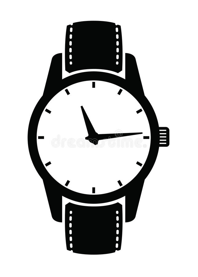 Watch icons vector illustration