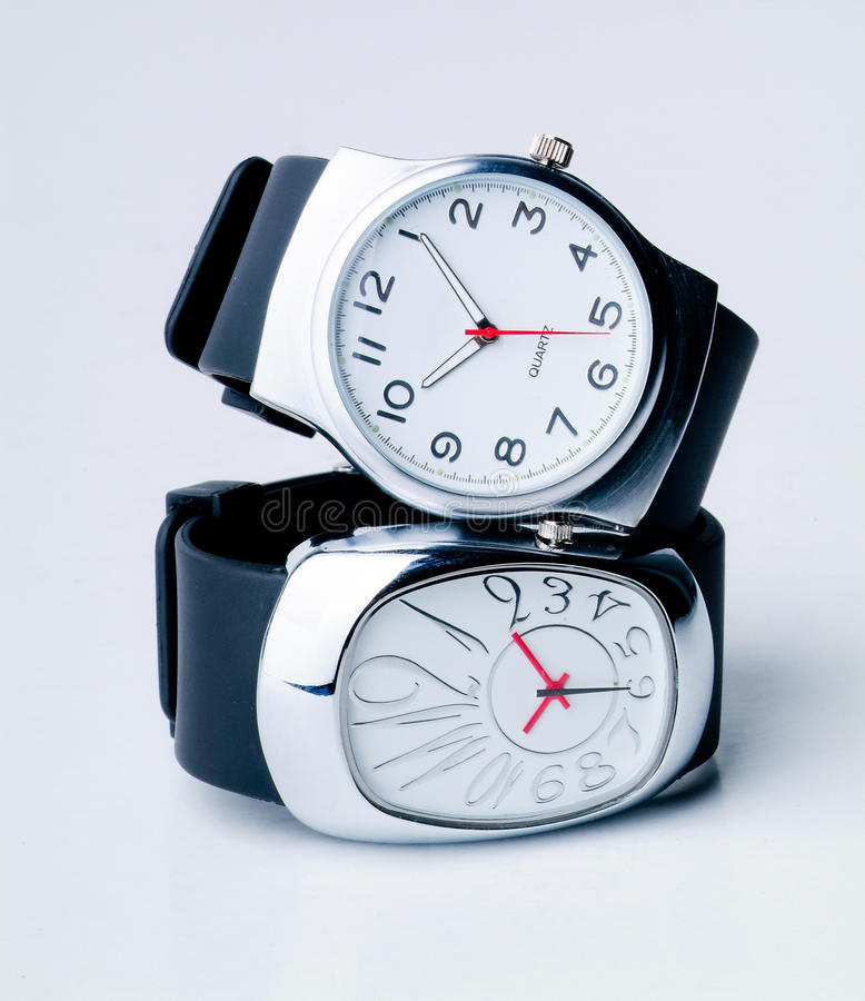 Watch Isolated Stock Image