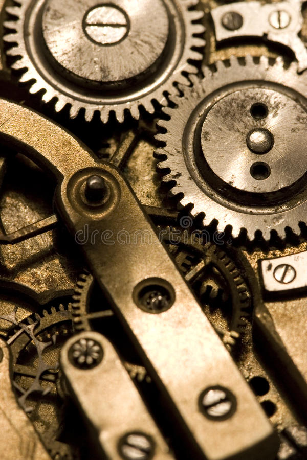 Download Watch mechanism stock image. Image of wheel, piece, bolts - 10552351