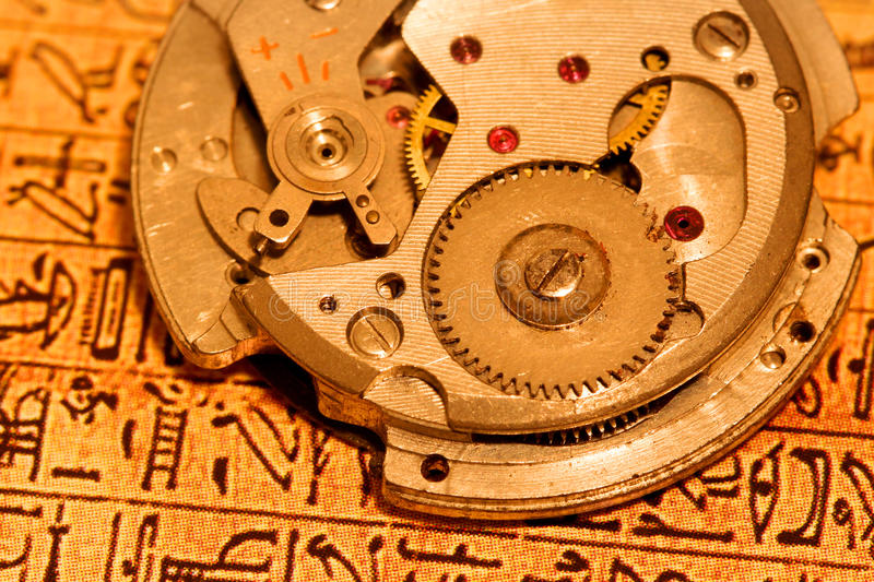 Download Watch mechanism stock image. Image of machinery, quality - 17214067