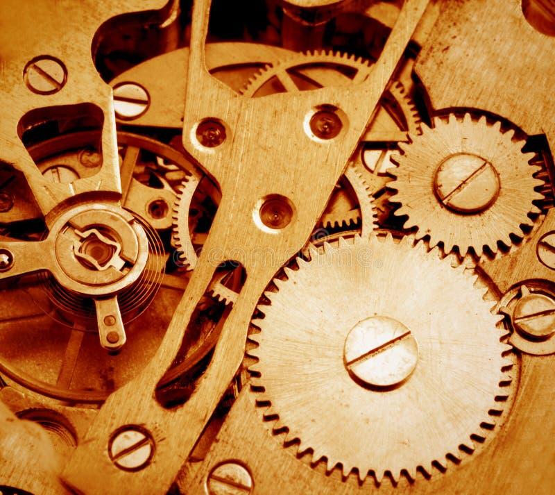 Watch mechanism royalty free stock photo