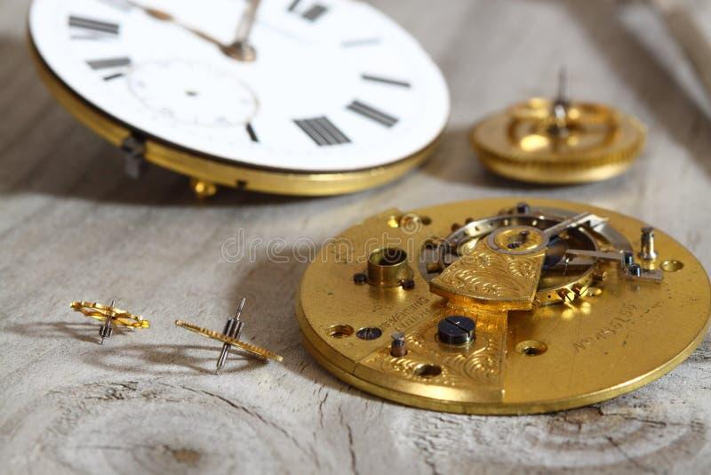Download Watch mechanism C stock image. Image of time, retro, tarnish - 25975349