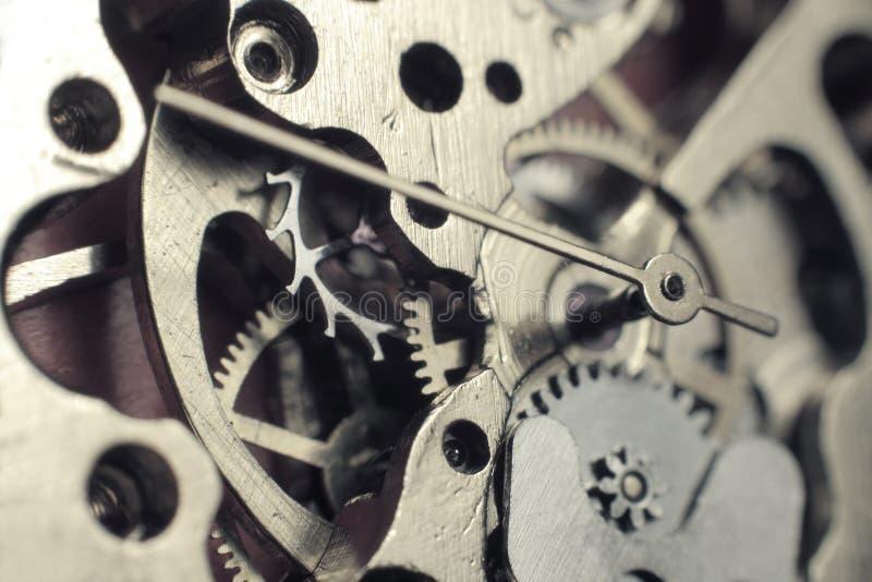 Watch mechanism royalty free stock photos
